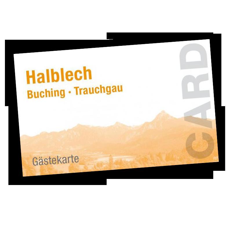 Halblechkarte